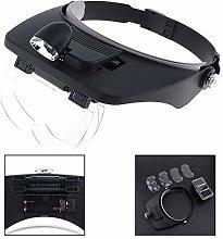LKK-KK Sale 7X Headband Type Magnifying Glass with