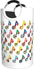 LKTBJEMFY Music Cuntry Animal Pattern Laundry