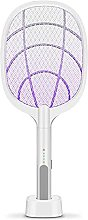 LLKK Portable USB Rechargeable Fly Mosquito Racket