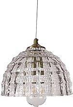 LLLKKK Modern Creativity Glass Pendant Light Dome