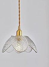 LLLKKK Modern Green Ceiling Lamp Shade Glass Light