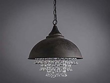 LLLKKK Retro Industrial Pendant Lighting With