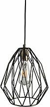 LLLKKK Vintage Bird Cage Ceiling Light Shade