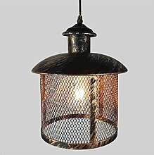 LLLQQQ Industrial Simple Pendant Light with 1M