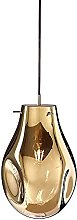 LLLQQQ Modern Colorful Glass Pendant Light