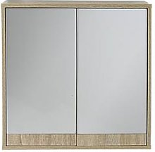 Lloyd Pascal Canyon Mirrored Bathroom Wall Cabinet