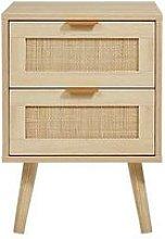 Lloyd Pascal Harrison 2 Drawer Bedside Cabinet