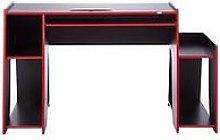 Lloyd Pascal Horizon 5 Gaming Desk - White/Blue