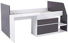 Lloyd Pascal Matilda Cabin Bed - Grey, Grey