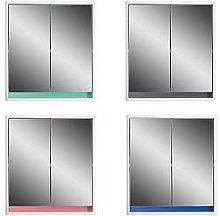 Lloyd Pascal Olinda Double Door Mirrored Bathroom