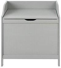 Lloyd Pascal Portland Laundry Hamper - Grey