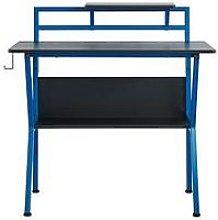 Lloyd Pascal Rogue Compact Gaming Desk - Blue/Black