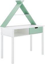 Lloyd Pascal Tipi 1 Drawer Desk - Green