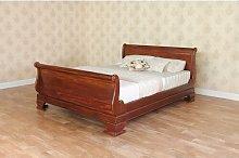 Lloyd Sleigh Bed with High Footboard in Lloyd