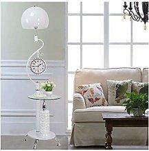 LLT Clock Floor Lamp Vertical Bedroom Living Room