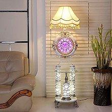 LLT Creative Clock Floor Lamp Modern Living Room