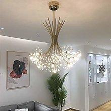 LLT Led Chandeliers Elegant Creative Art Deco Gold