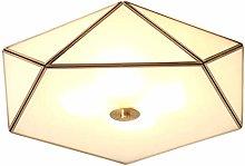 LLT Useful Ceiling Lamp Living Room Lamp Warm