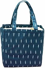 LLZ.COQUE Insulated Lunch Bag Picnic Cool Bag