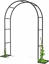 LLZH Iron Garden Arch Trellis Garden Arbor Pergola
