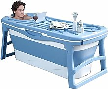 LMAKDU Foldable Bathtub,Portable Bathroom Hot Tub