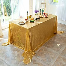 LMDY home decoration tableclothGolden Sequins