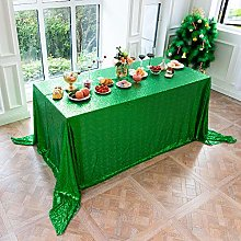LMDY home decoration tableclothgreen Sequins