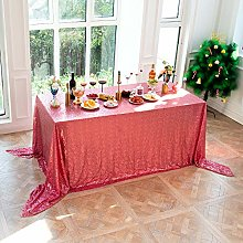 LMDY home decoration tableclothModern red Sequins