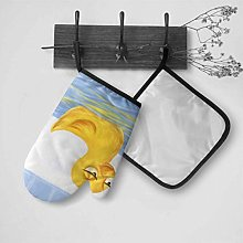 LMFshop Womens Oven Gloves A Group Of Yellow