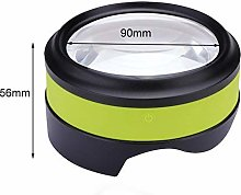 LMK Magnifier,5X Magnifying Glass with 4