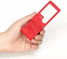 LMK Magnifier,Small Magnifying Glass with Light,