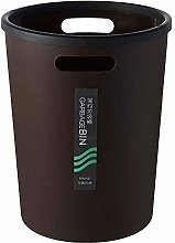 LMK Trash Can,Waste Bin Plastic Bin with Handles