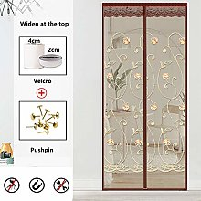LMWB Magnetic Fly Screen Door, for Balcony Sliding