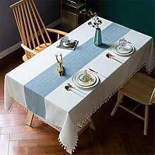 LMWB Table Cover,Tablecloth,Fabric cotton and