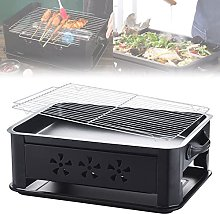 LMZZ Stainless Steel Grilled Fish Stove Charcoal