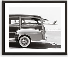 Loaded Wagon 1 - Framed Print & Mount, 56 x 66cm,