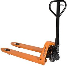 LoadSurfer 2500kg Rubber Wheel Hand Pump Push