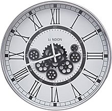 Lobhqph Large Wall Clock, Wall Clock with Real