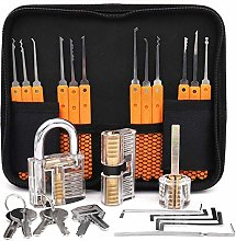 Loboo Idea 17-Piece Lock Pick Training Set with 3