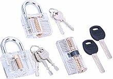 Loboo Idea 3-Piece Practice Lock Set for Beginner