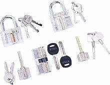 Loboo Idea 5-Piece Practice Lock Set for Beginner