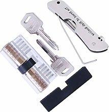 Loboo Idea 7-in-1 Lock Picking Set with