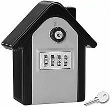 Loboo Idea Key Lock Box Wall Mount, Zinc Alloy Key