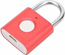 Lock, Fingerprint Lock Zinc Alloy for Locker Lock