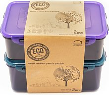 Lock & Lock Eco Set of 2 Food Storage Containers