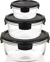 Lock & Lock Glass Food Storage Containers with