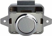 Lock Pad 26Mm Push Lock Latch Button Catch Lock