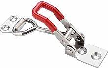 Lock Pad 2Pcs Toggle Clamp Horizontal Clamp