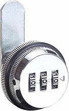 Lock Pad Digit Letter Box Drawer Cabinet Lock