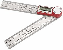 Locking Structure 0-200mm Digital Angle Ruler 360
